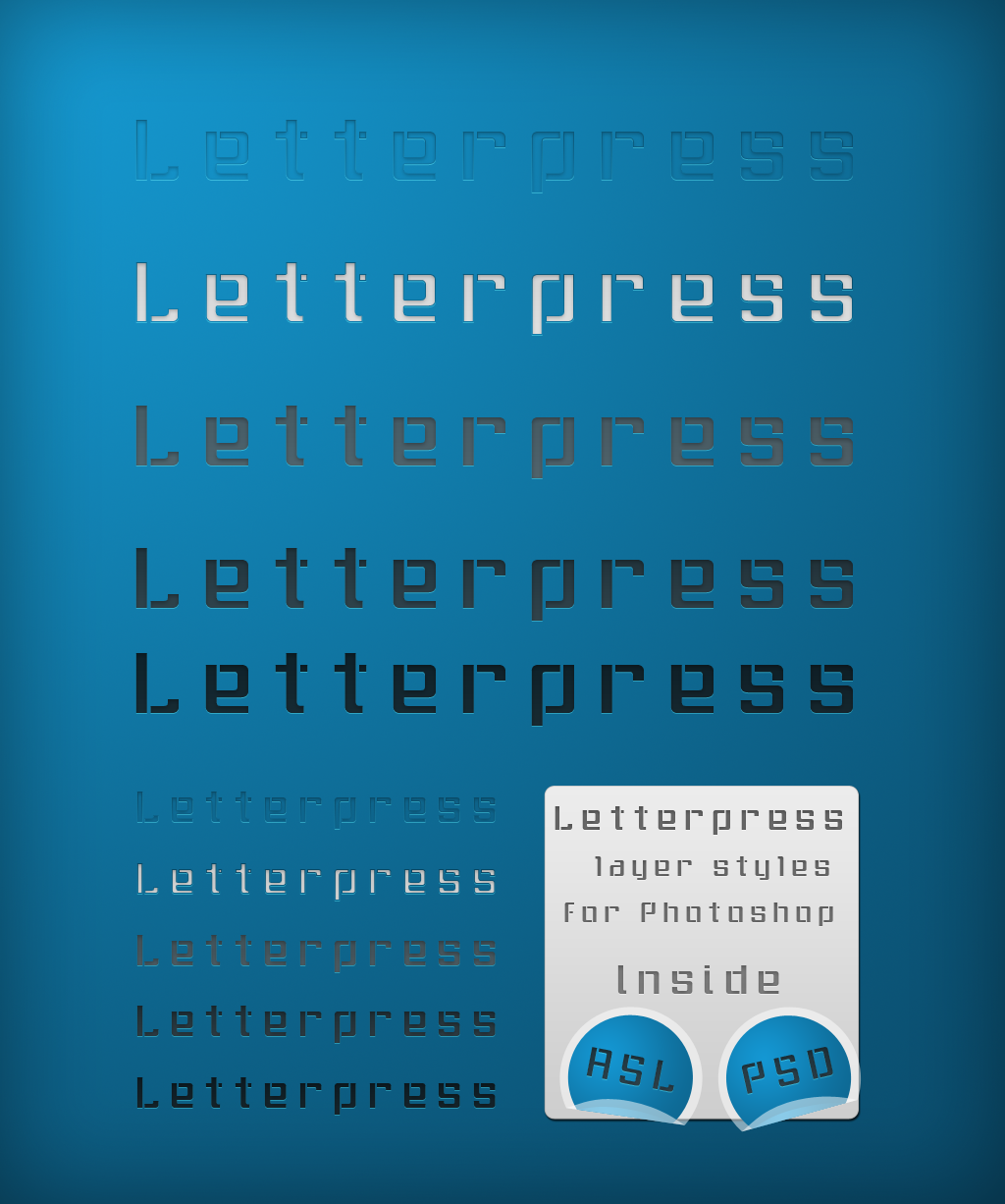 LetterpressLayerStylesbyIdered.png