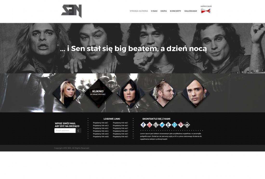 projekt_strony_dla_zespolu_rockowego_sen