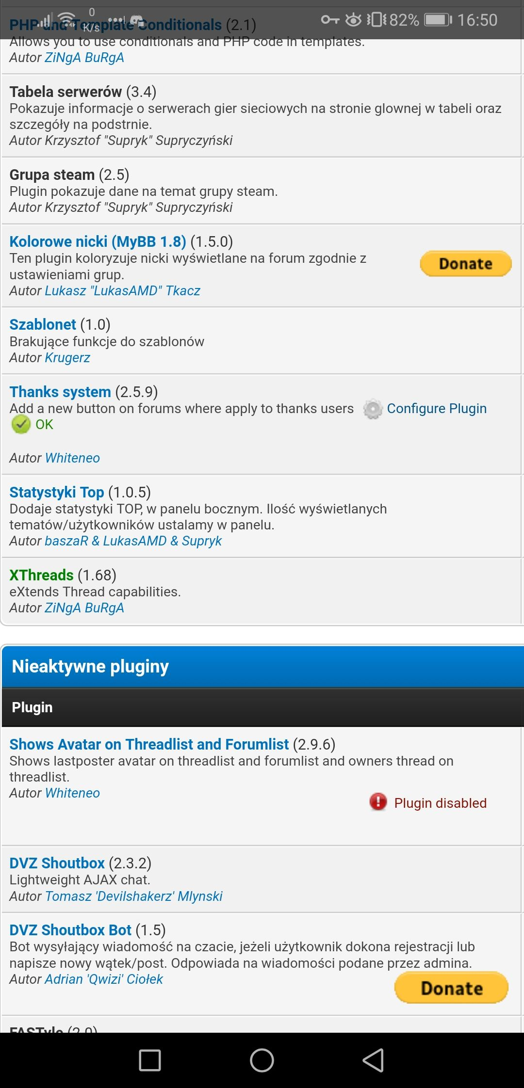 Mybb plugins shoutbox